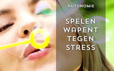 Spelen wapent tegen stress